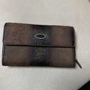 Leather wallet by Renato Balestra